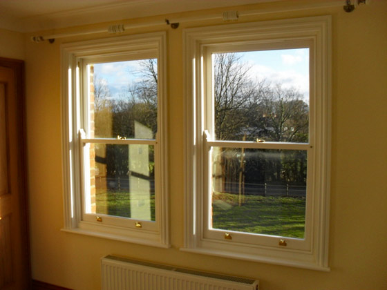 Period Wooden Sash Windows In Kent