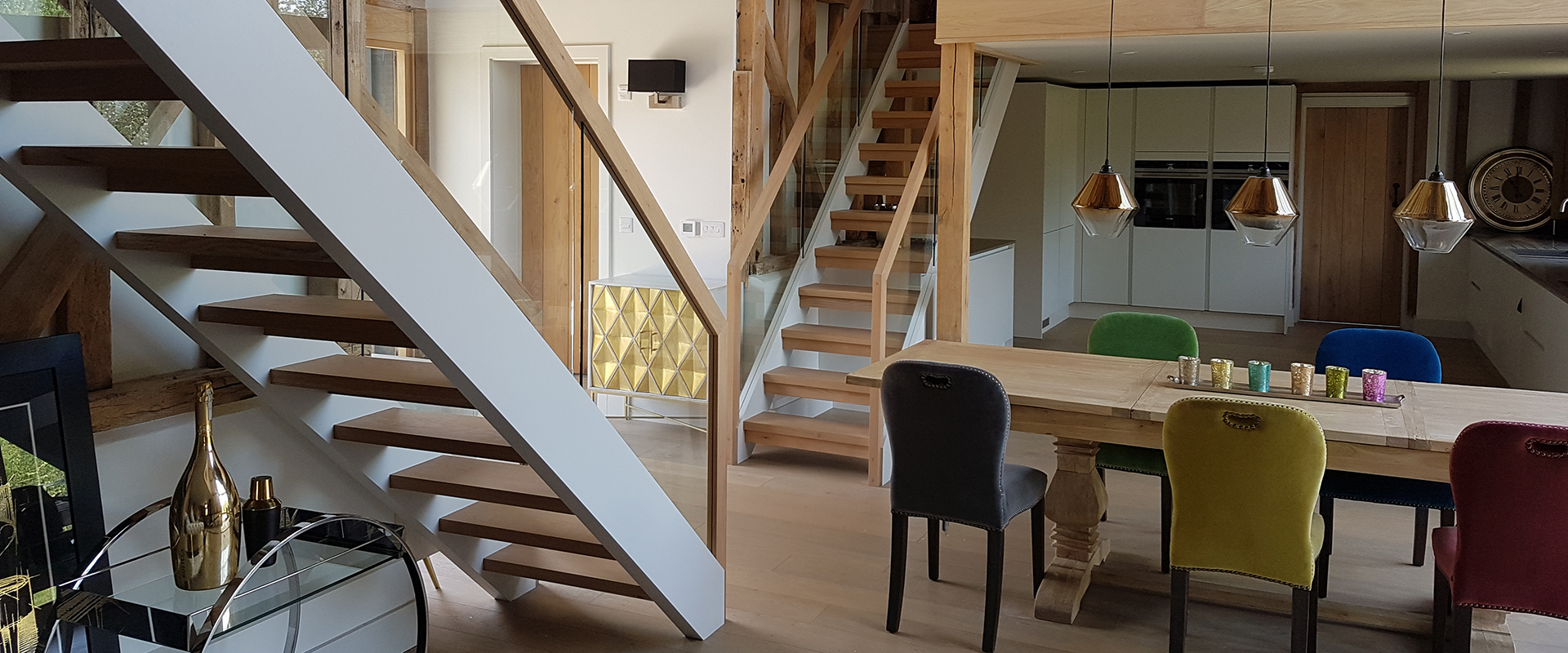 Bespoke Wooden Staircases in kent'