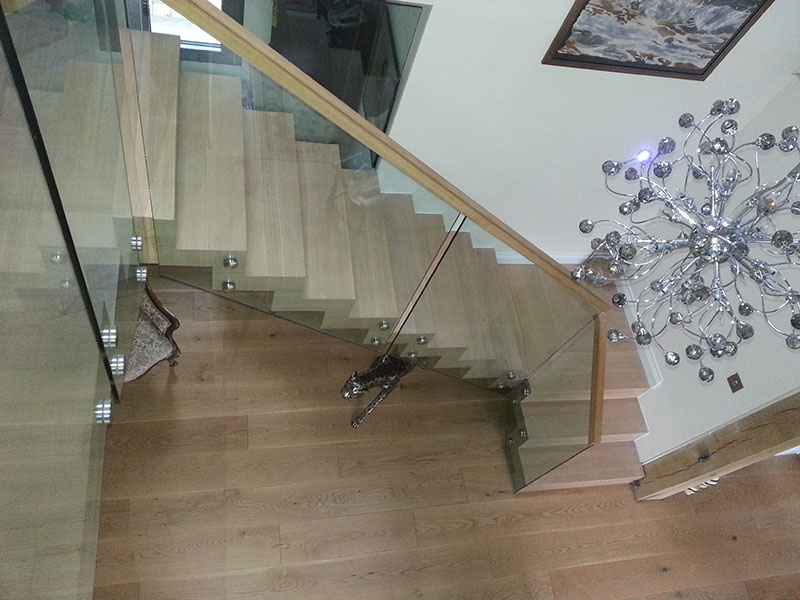 Modern Staircase Installation Kent