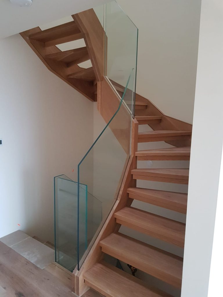 3 open Tread Staircases 2 2